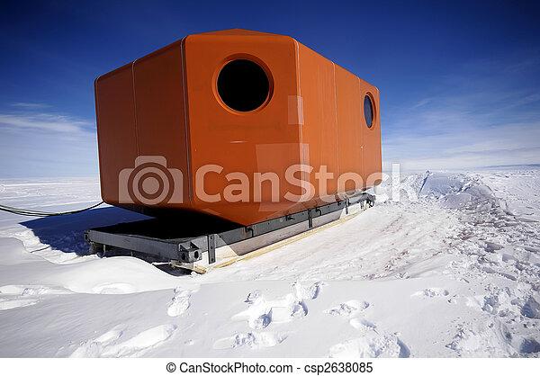 Antarctic mobile home - csp2638085