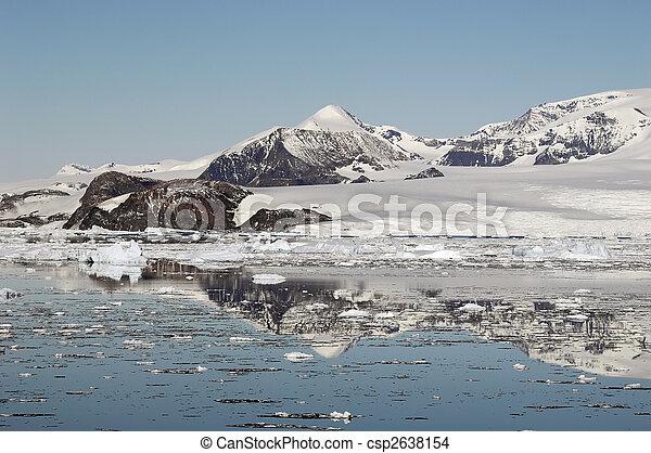 Antarctic mountains - csp2638154