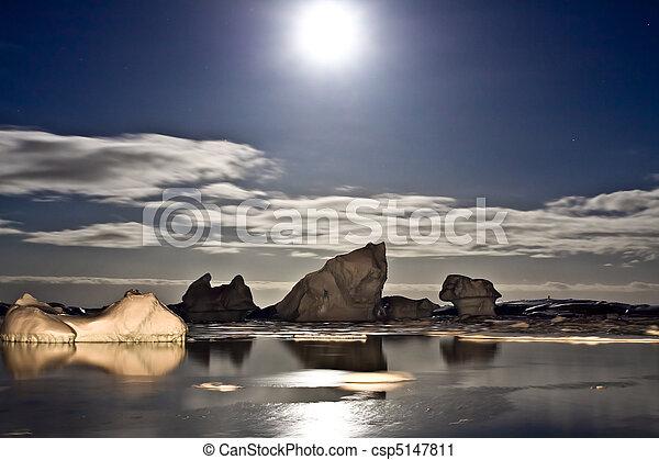 Antarctic night - csp5147811