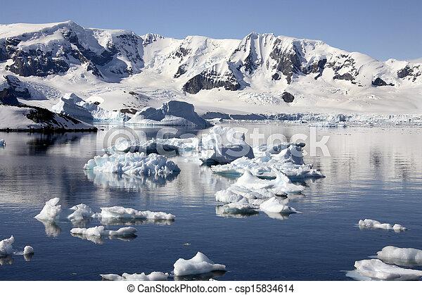 Antarctic Peninsula in Antarctica - csp15834614