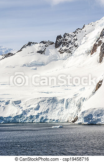 Antarctica - Landscape - csp19458716