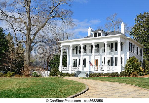 Antebellum Home - csp5682856
