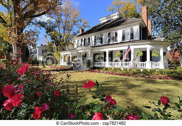 Antebellum House - csp7821482