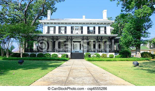 Antebellum Mansion - csp6555286