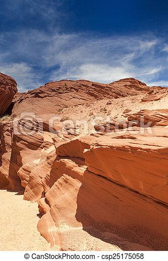 Antelope Canyon in Arizona - csp25175058