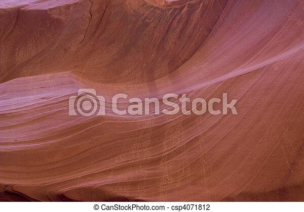 Antelope Canyon in Arizona - csp4071812