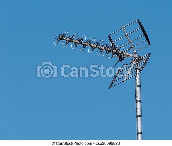 Televisión aérea - csp38699823