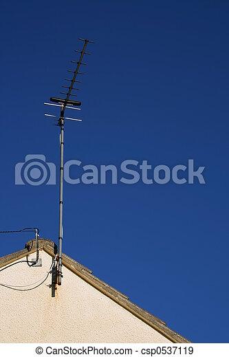 Televisión aérea - csp0537119