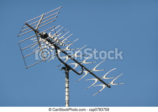 Televisión aérea - csp0783759
