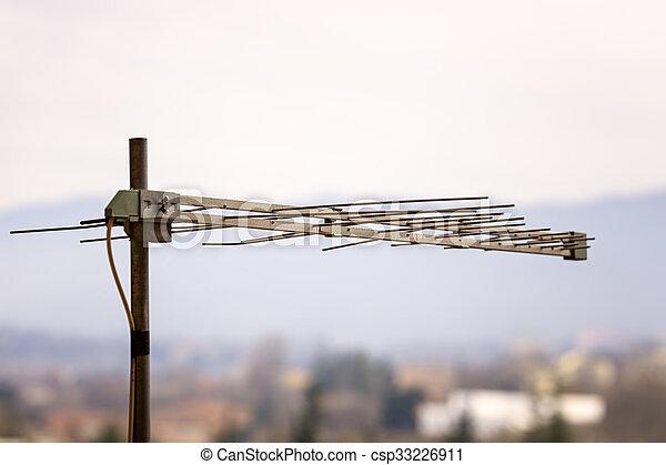 Televisión aérea - csp33226911