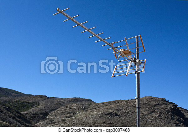 Televisión aérea - csp3007468