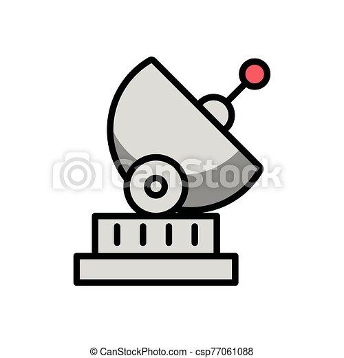 antena satellite communication isolated icon - csp77061088