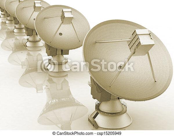 Platos satelitales 3D - csp15205949