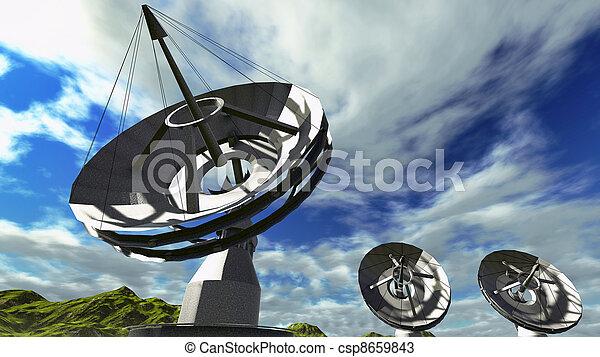Platos de satélite - csp8659843
