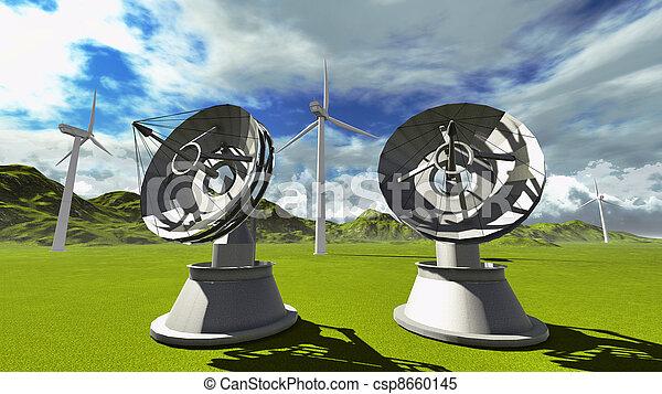 Platos de satélite - csp8660145