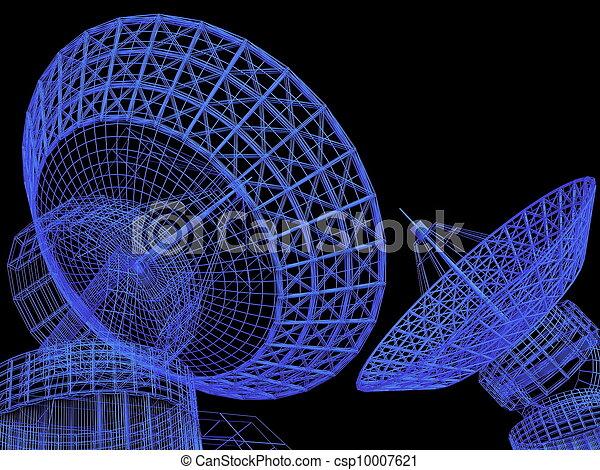 Platos satelitales - csp10007621