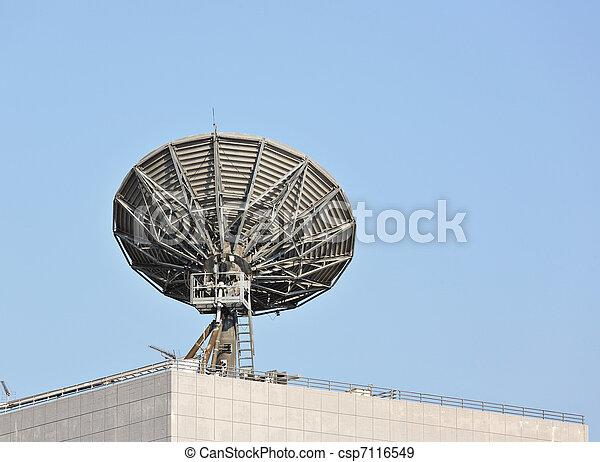 Platos satelitales - csp7116549