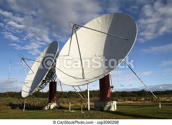 Platos satelitales - csp3090298