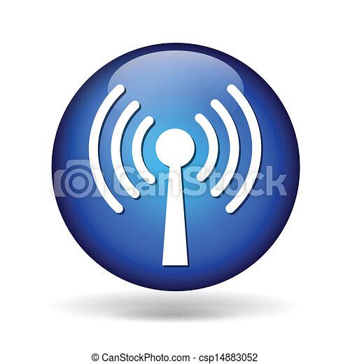 antenna icon - csp14883052