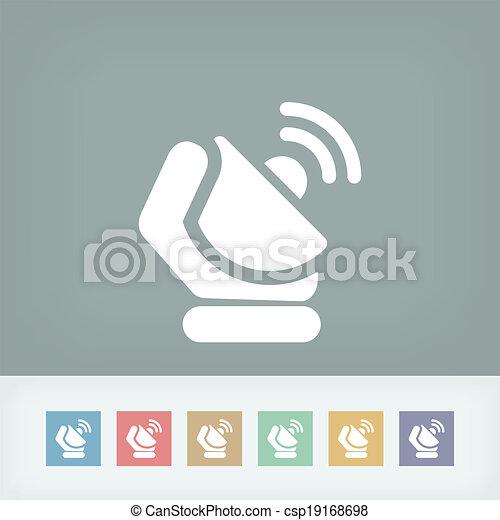 Antenna icon - csp19168698