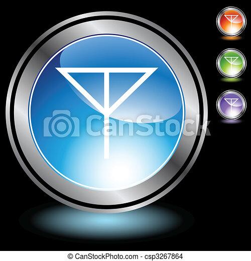 Antenna Icon - csp3267864