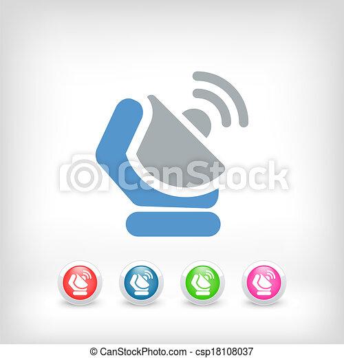 Antenna icon - csp18108037