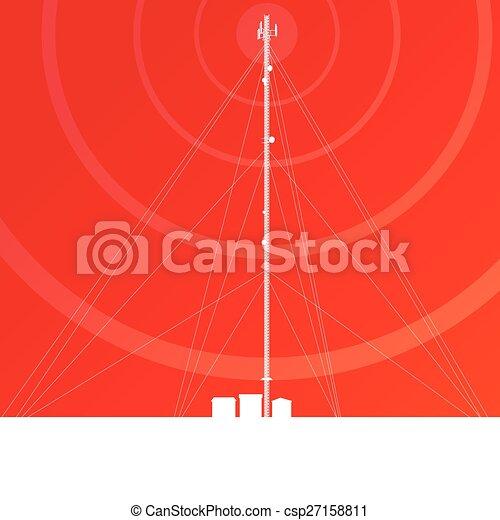 Antenna transmission communication - csp27158811