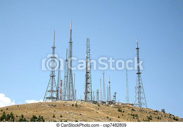 antenne, achtergrond - csp7482809