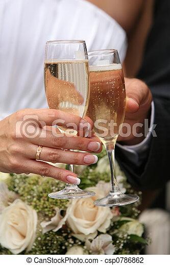 anteojos de champán - csp0786862