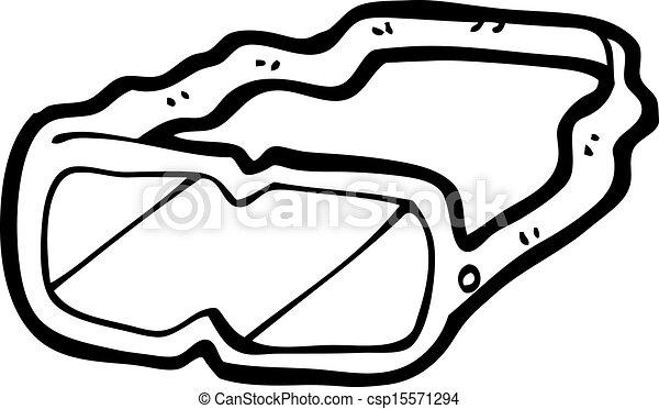 Las gafas protectoras de cartón - csp15571294