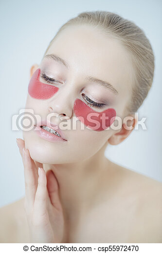 Anti Aging Treatments For Face Young Beautiful Woman With