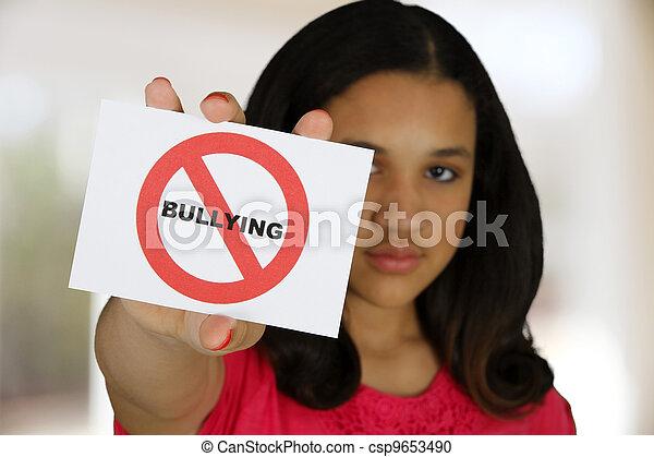Anti Bullying - csp9653490