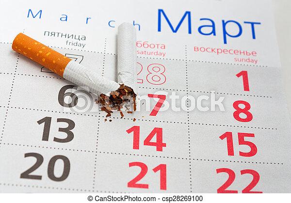 Anti-smoking background - csp28269100