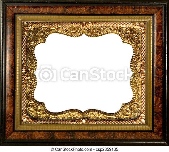 anticaglia, cornice, embellished - csp2359135