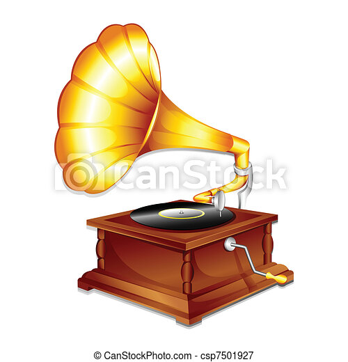 anticaglia, gramaphone - csp7501927