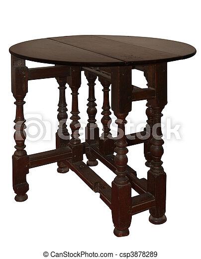 anticaglia, tavola, estensione - csp3878289