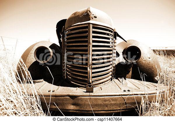 antieke auto - csp11407664