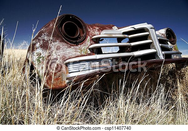antieke auto - csp11407740
