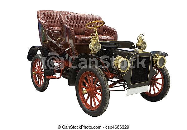 antieke auto - csp4686329