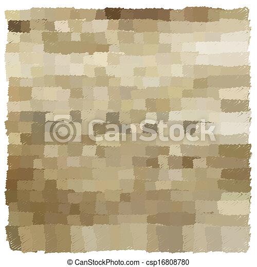 antieke , bruine , grunge, ouderwetse , decoratief, achtergrond - csp16808780