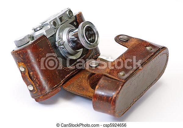 antieke camera - csp5924656