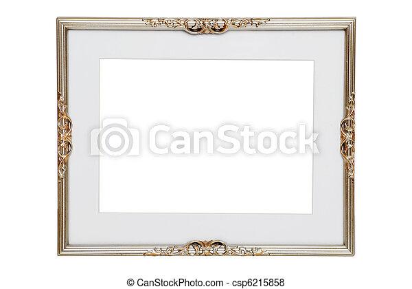antieke , frame, zilver - csp6215858
