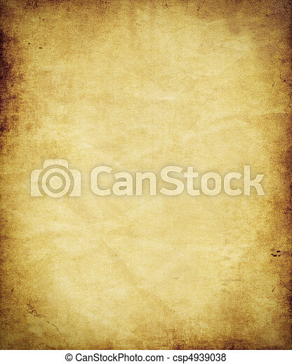 antieke , papier, oud, perkament - csp4939038