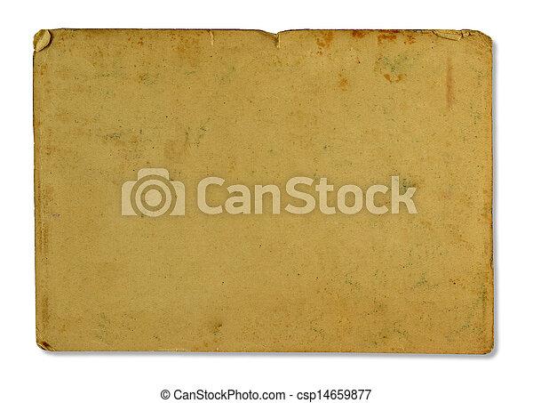antieke , papier - csp14659877