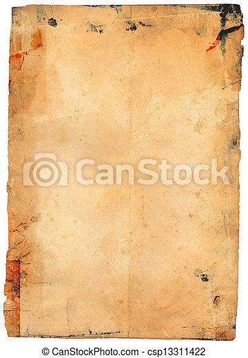 antieke , papier - csp13311422