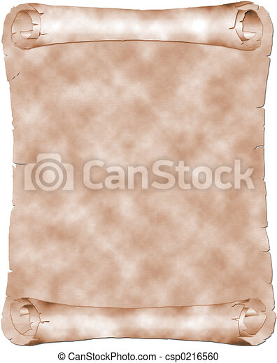 antieke , perkament - csp0216560