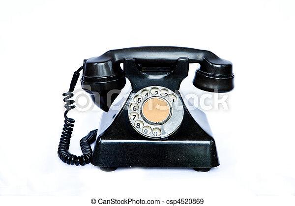 antieke , telephone. - csp4520869