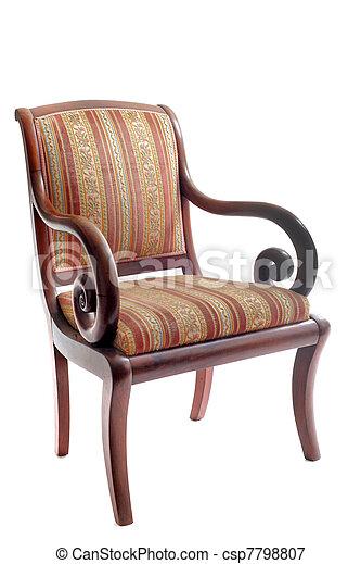antigüidade, cadeira - csp7798807
