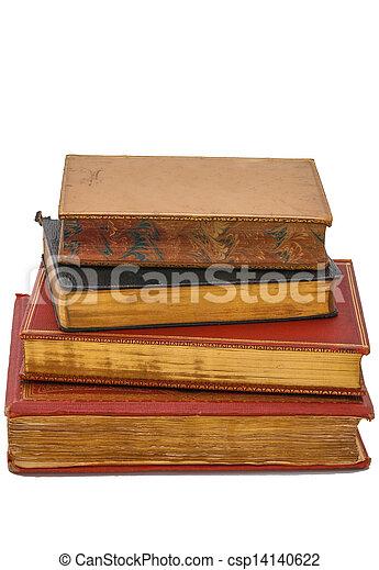 antigüidade, livros - csp14140622