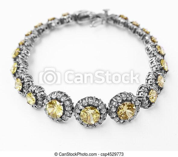 antigüidade, pulseira - csp4529773